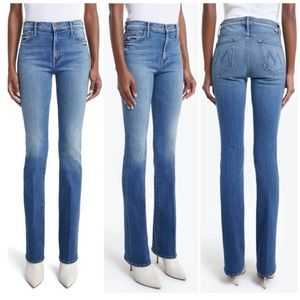 NWT MOTHER The Insider, So Long Jeans, Size 26